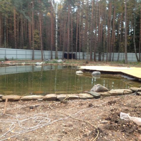 Строительство деккинга и деревянного помоста.