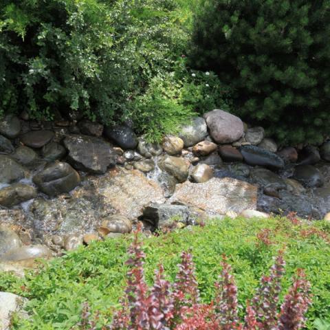 Ландшафтный дизайн, ручей