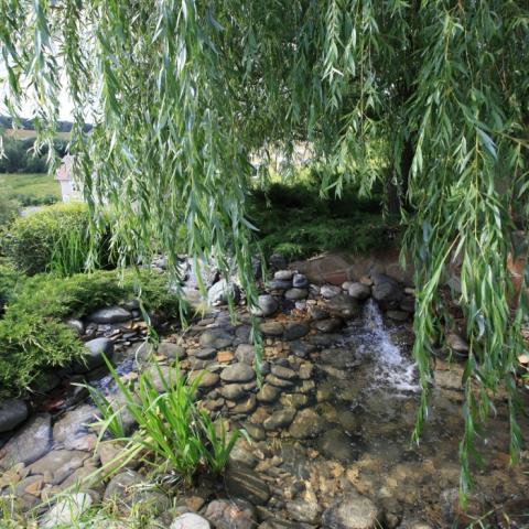 Ландшафтный дизайн, каскадные ручьи