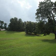 Александрийский парк Петергофа - пейзажный стиль