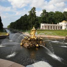 Нижний парк Петергофа