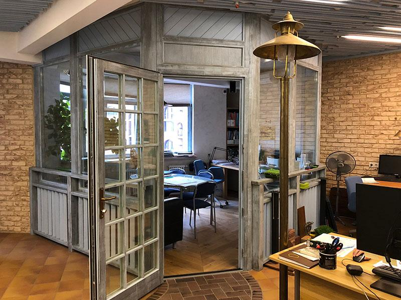 Офис компании Садовый Лабиринт