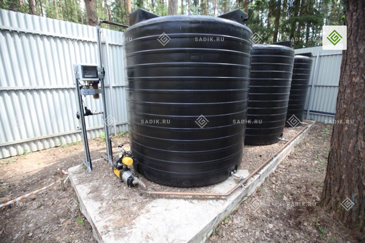 Бочка для системы автоматического полива растений