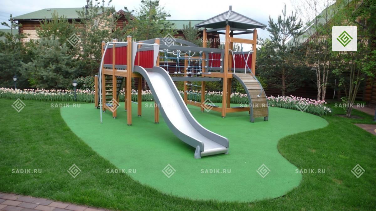 Детская площадка для малышей до 4 лет