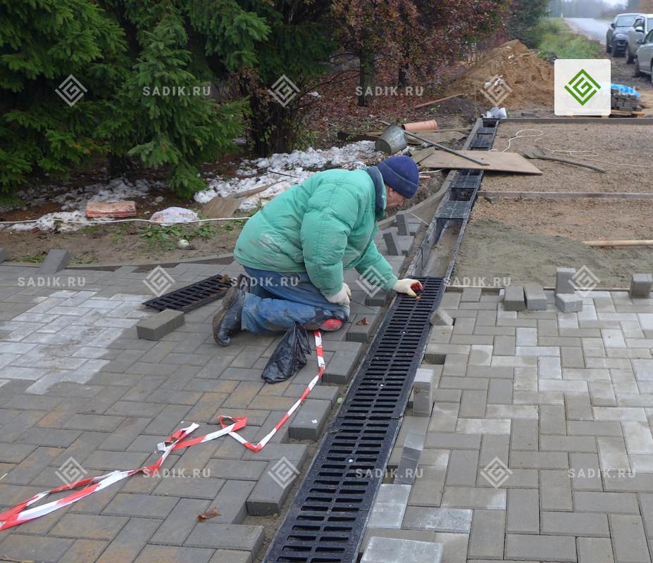 Монтаж левневой канализации специалистами Садового Лабиринта