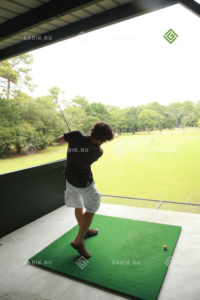 Первый удар в гольф партии