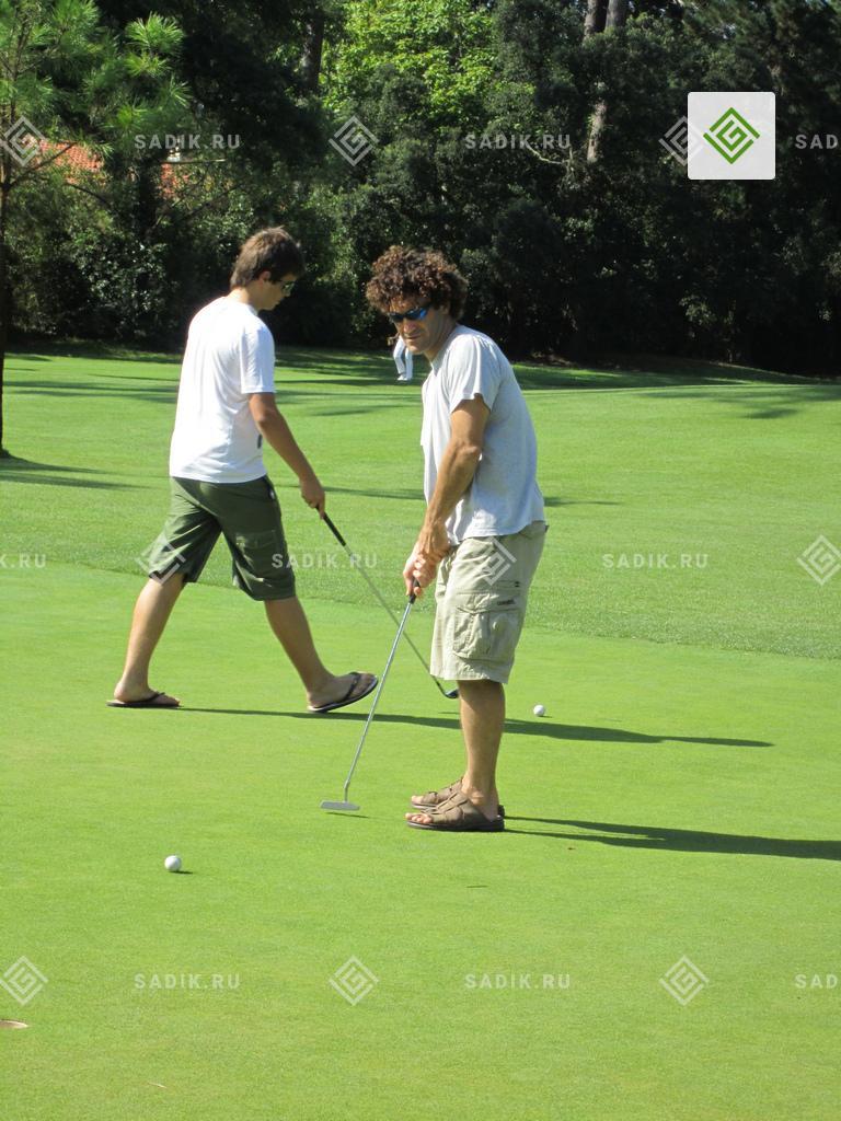 Поле для гольфа в классическом стиле