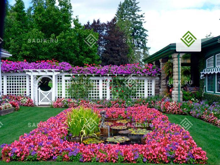 Клумба как элемент садово-паркового дизайна