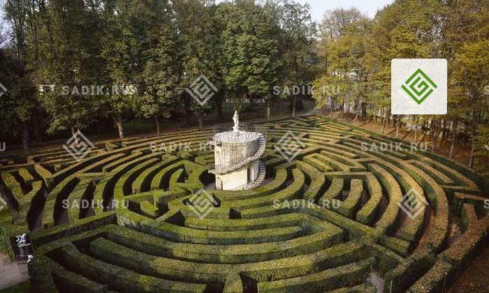 В лабиринте виллы Пизани (Il Labirinto) в Венеции легко можно заблудиться