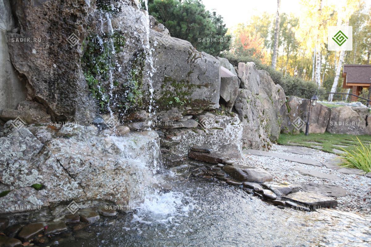 Система садовой инженерии - водопад