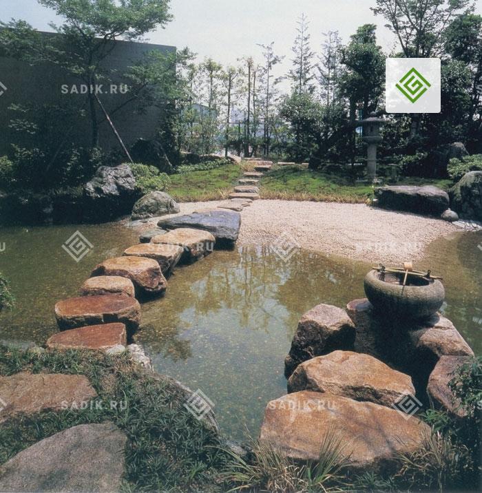 Японский садовый стиль в ландшафтном дизайне